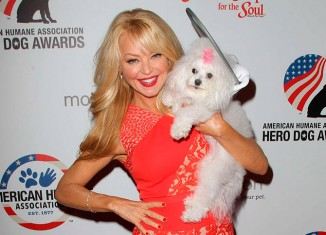 Charlotte Ross en la gala Hero Dog Awards 2014