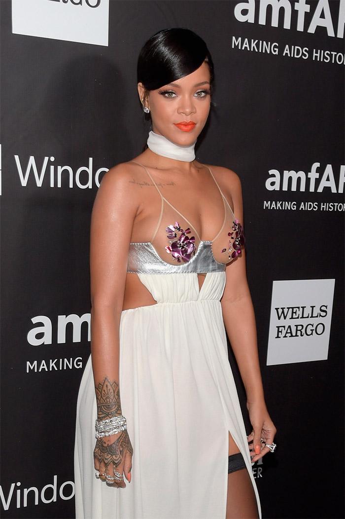 Rihanna en amfAr
