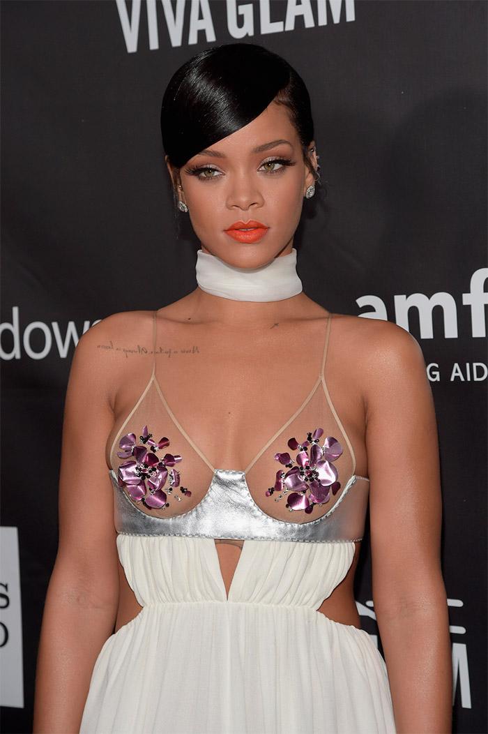 Rihanna en la Gala de Inspiración amfAr