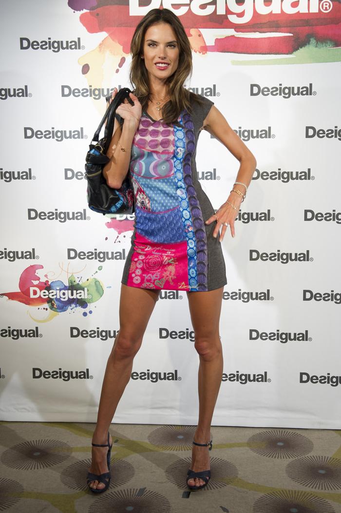 Alessandra Ambrosio en un evento de moda