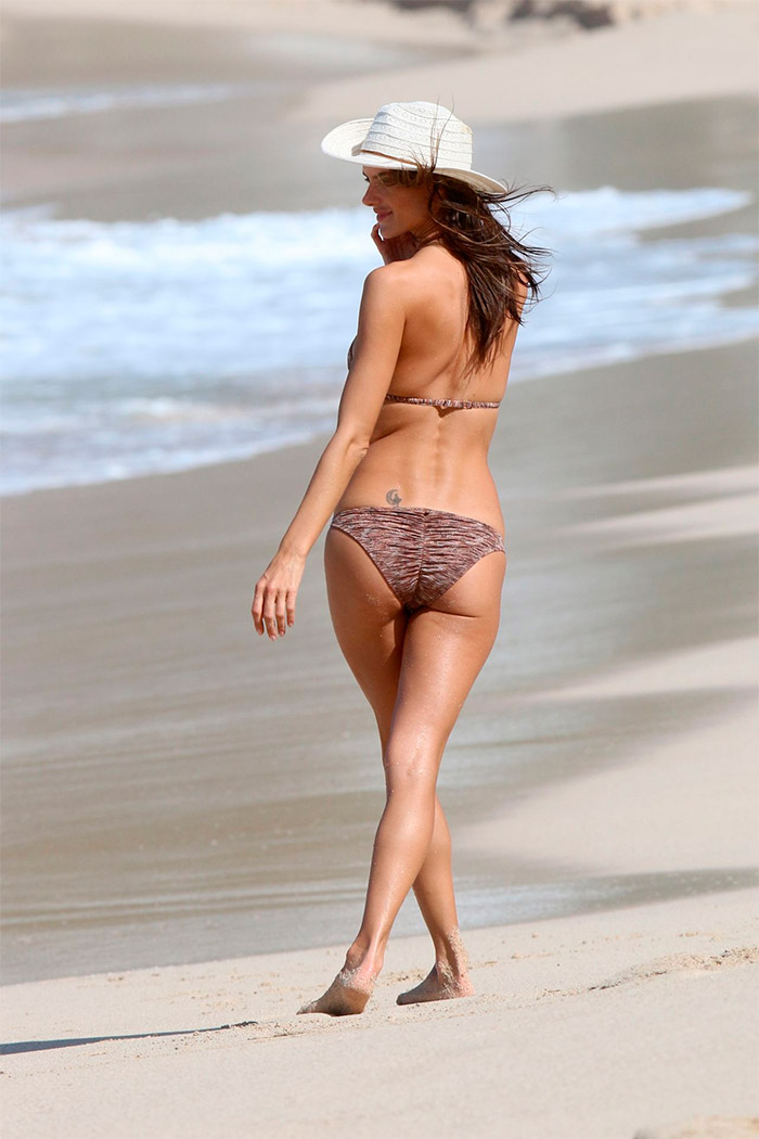 Alessandra Ambrosio luce cuerpazo en bikini