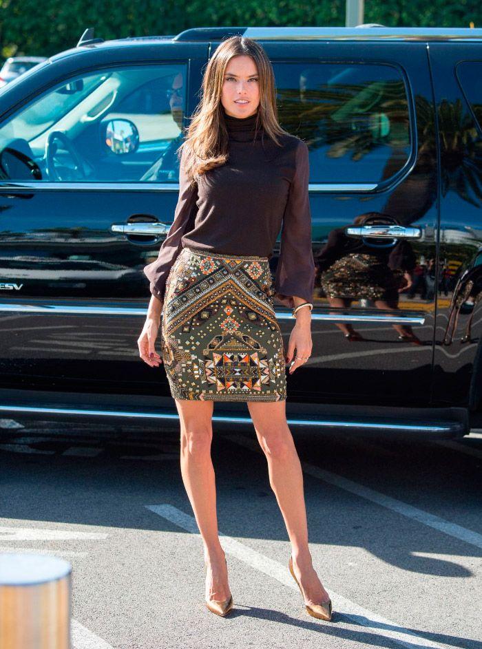 Alessandra Ambrosio preciosa en Los Ángeles