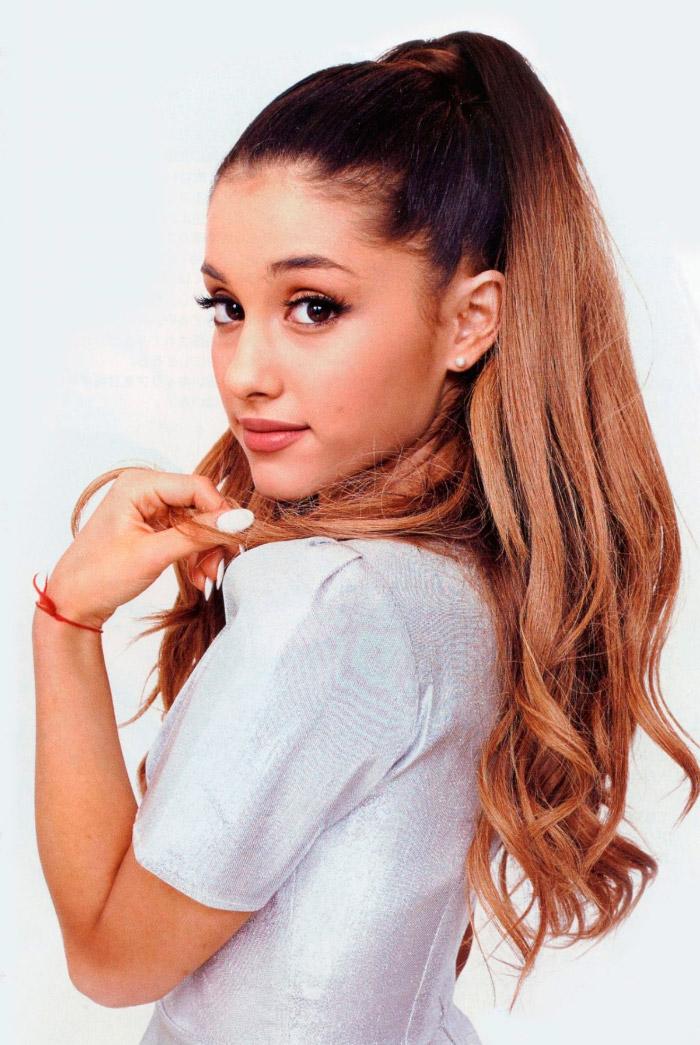 Ariana Grande posa para InRock