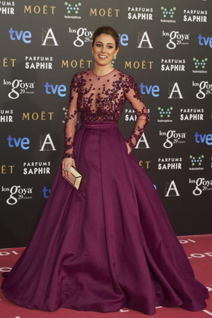 Blanca Suarez elige vestido con transparencias
