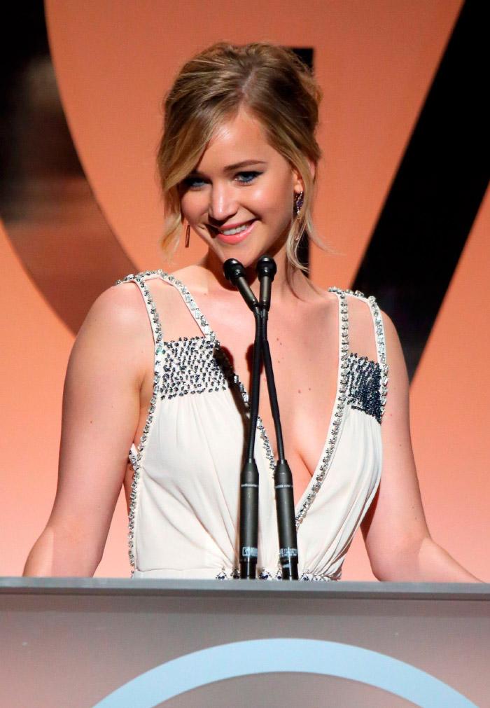Bonito vestido Prada de Jennifer Lawrence