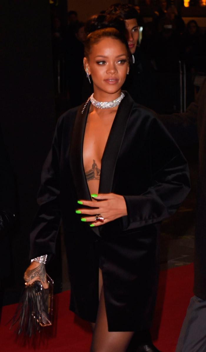 Chaqueta de Rihanna 2014