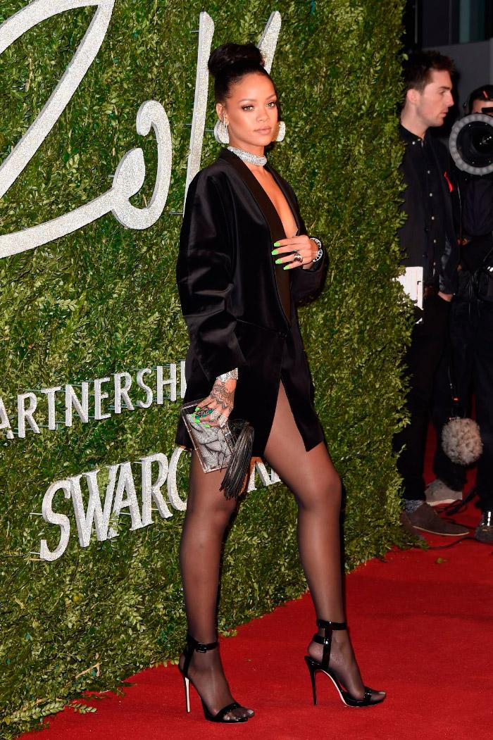 Chaqueta de Rihanna en los BFA 2014