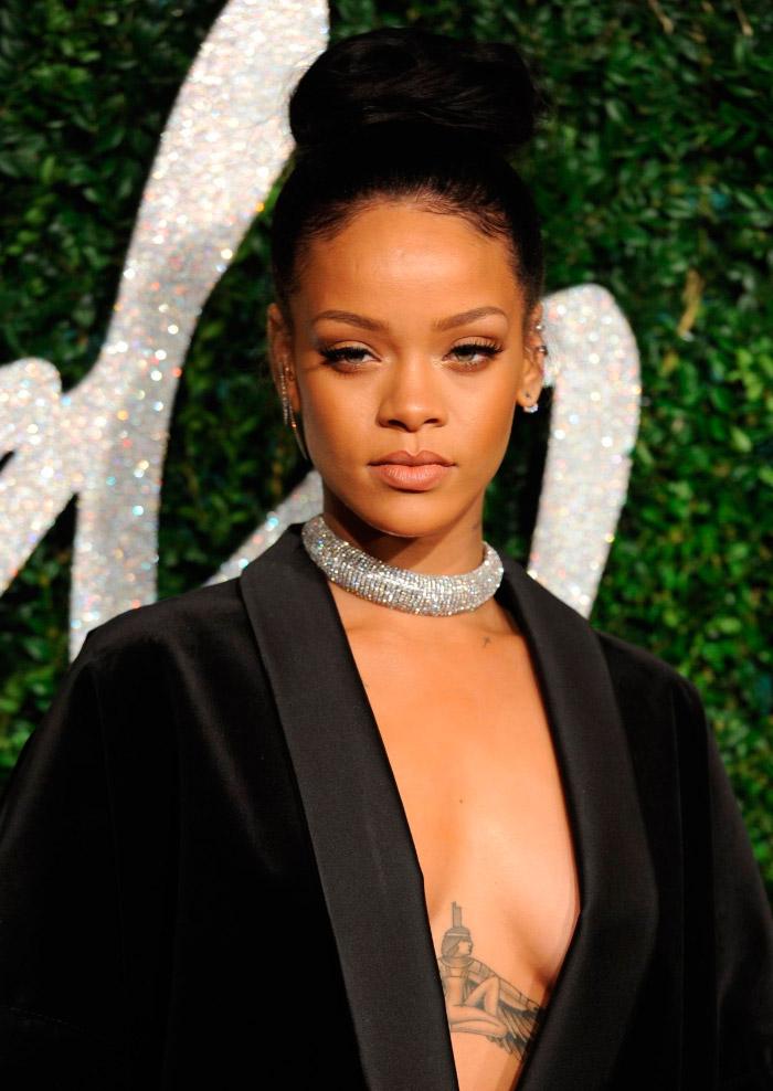 Chaqueta de Rihanna en los BFA