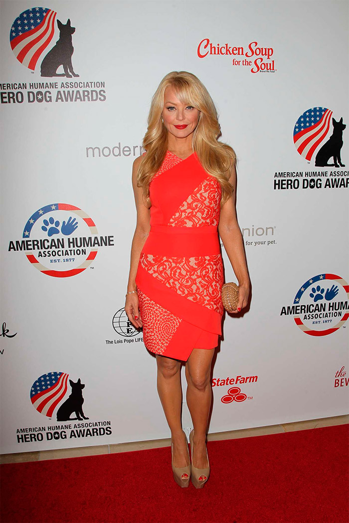 Charlotte Ross en la Hero Dog Awards 2014