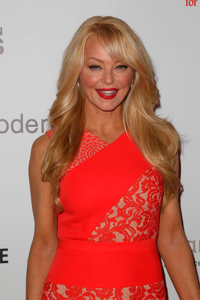 Charlotte Ross en la gala Hero Dog Awards