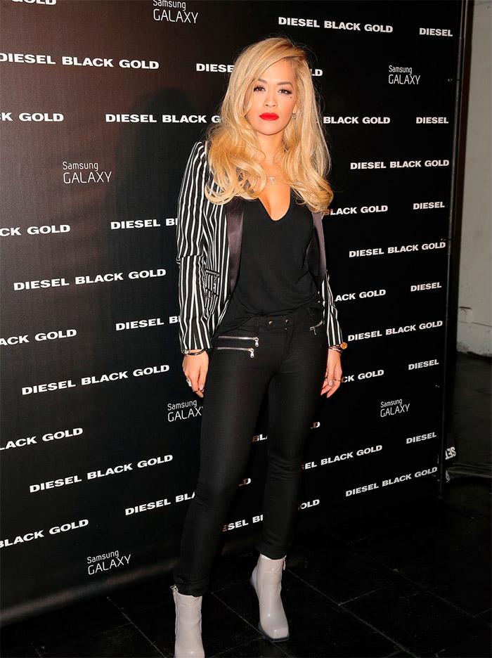 Diferentes estilos de Rita Ora