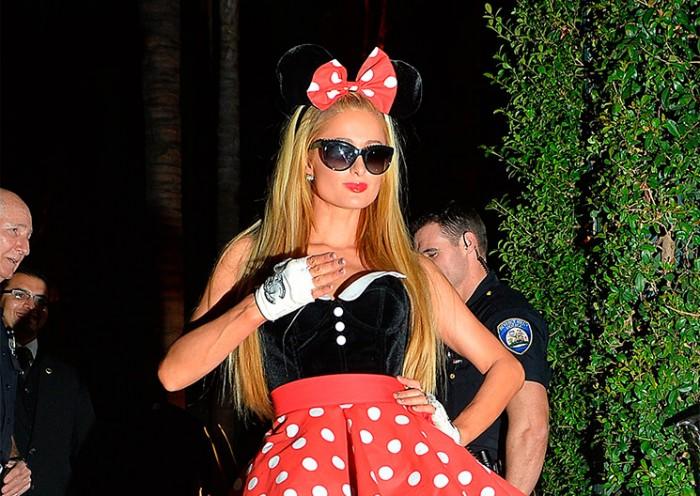 Disfraz de Paris Hilton de Halloween