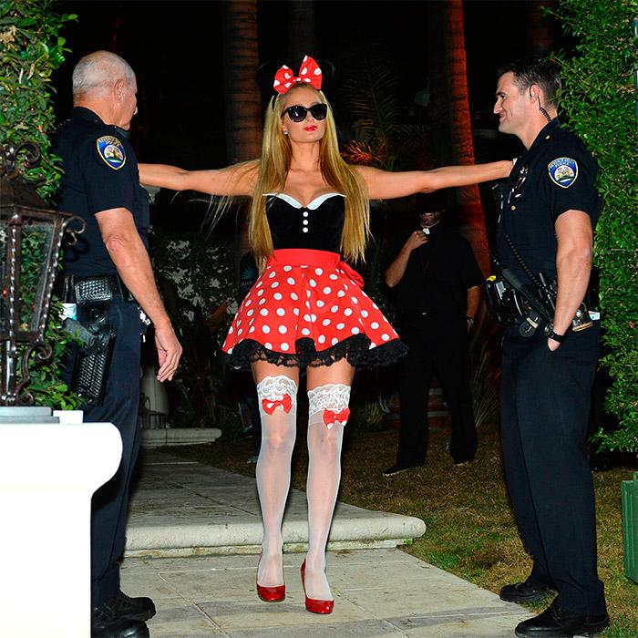 Disfraz de Paris Hilton de Minnie Mouse