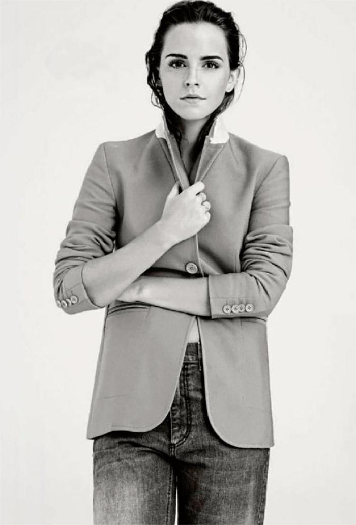 Emma Watson, portada del primer número de Elle UK