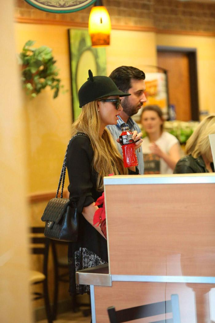 Estilo de Paris Hilton para este invierno