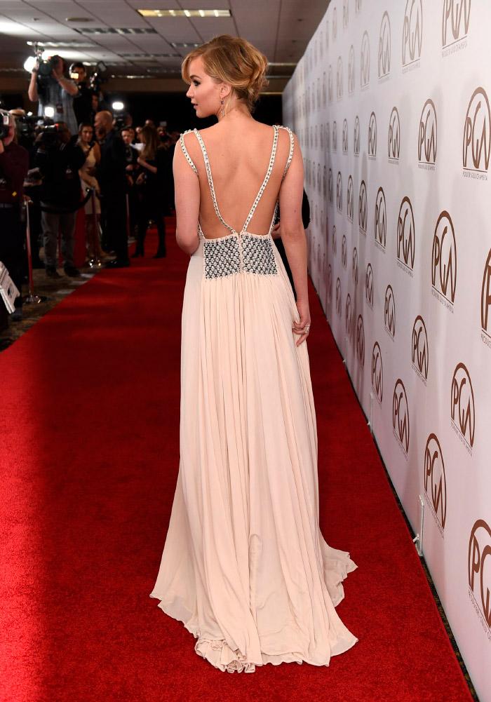Falda Prada de Jennifer Lawrence