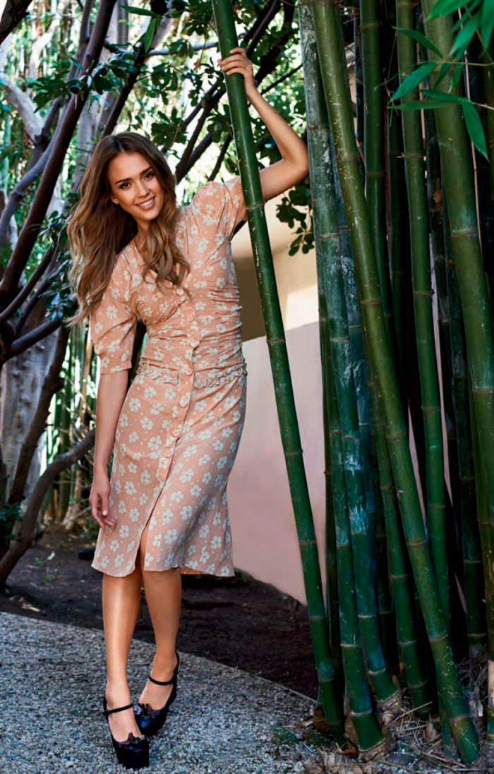 Jessica Alba Natural Health Magazine