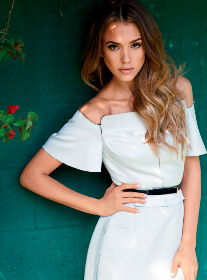 Jessica Alba en Natural Health Magazine