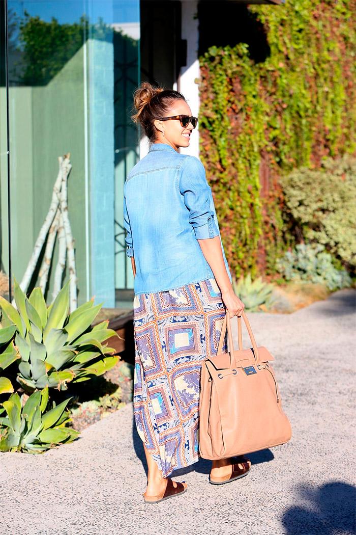 Jessica Alba por Beverly Hills