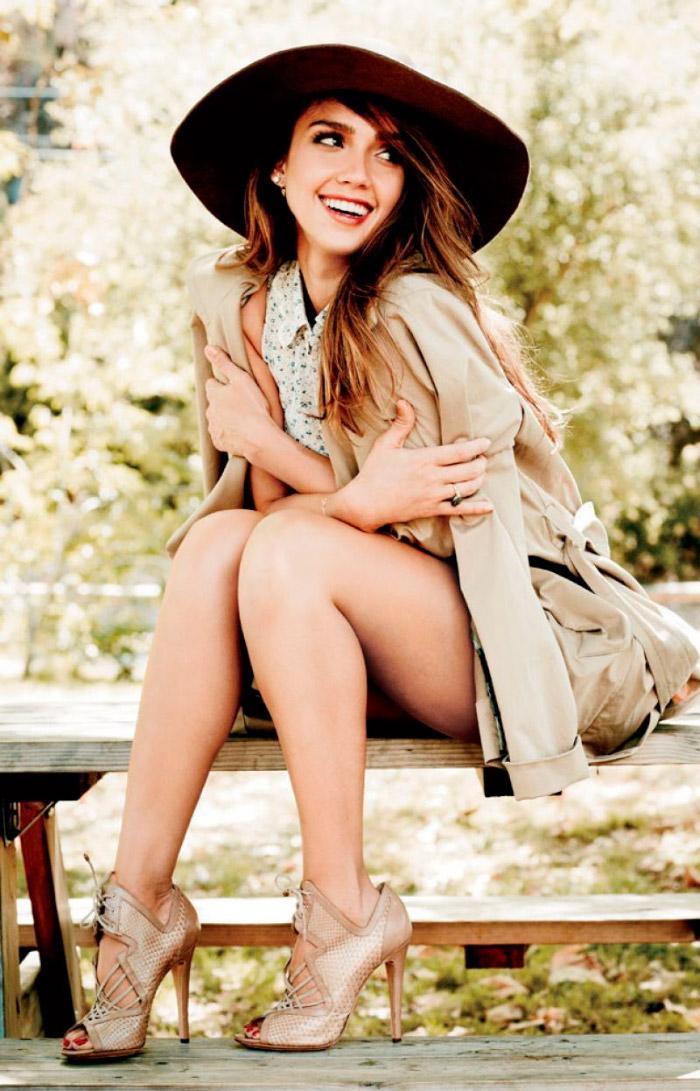 Jessica Alba posa en Natural Health Magazine