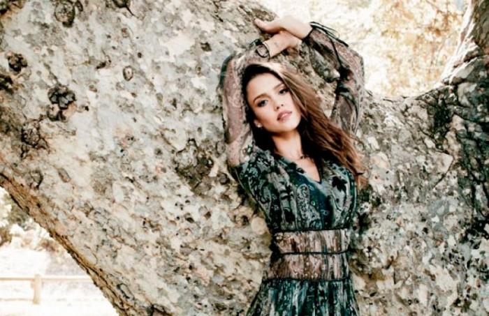 Jessica Alba posa para Natural Health Magazine