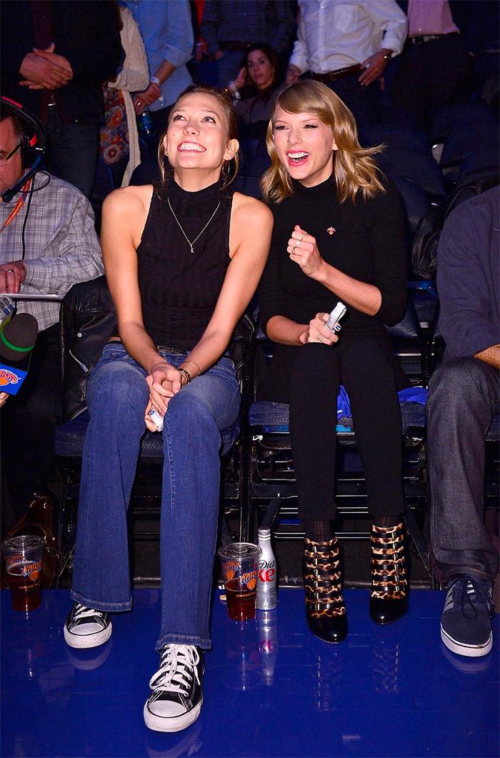 Karlie Kloss y Taylor Swift
