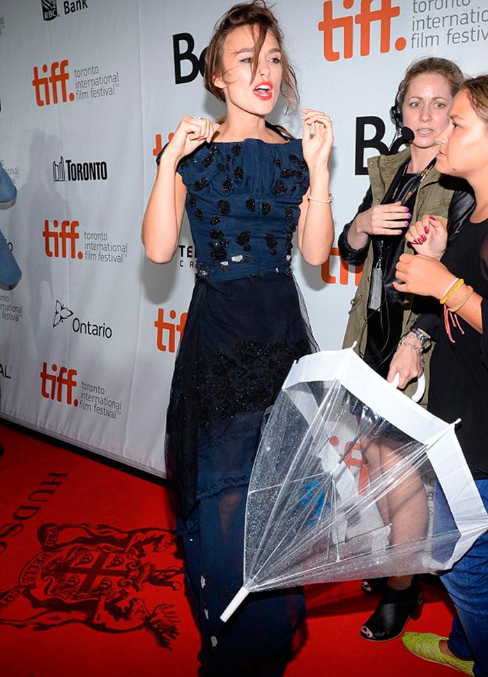 Keira Knightley en el Festival Internacional de Toronto