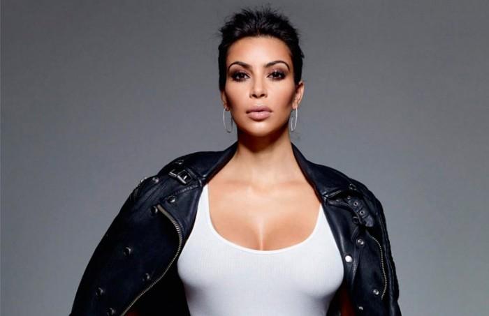 Kim Kardashian, portada Elle Enero 2015