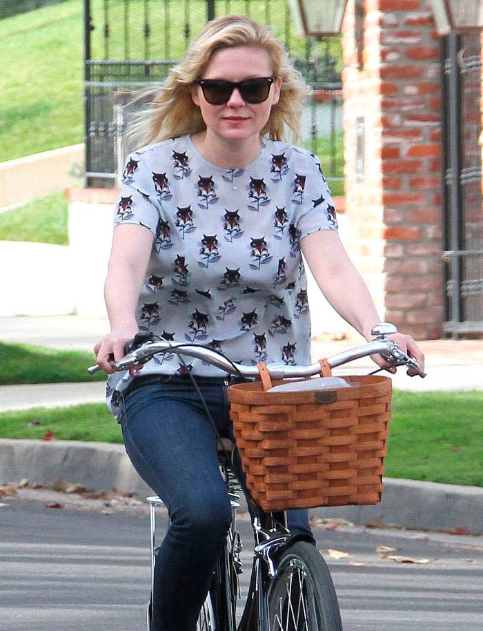 Kirsten Dunst, estilo casual