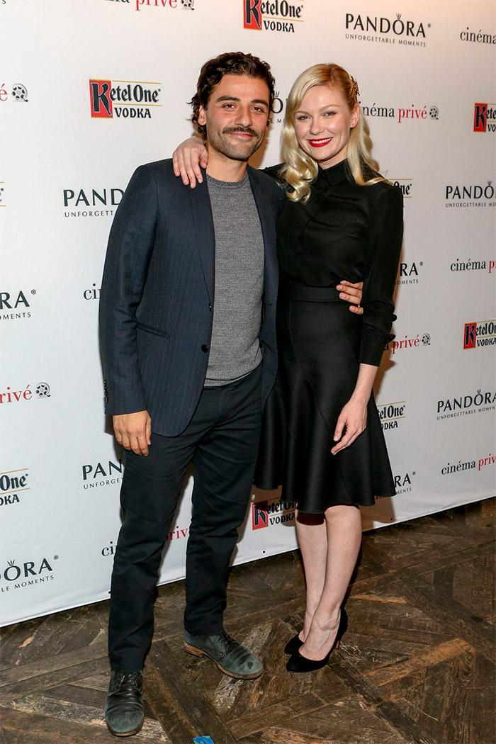 Kirsten Dunst y Oscar Isaac