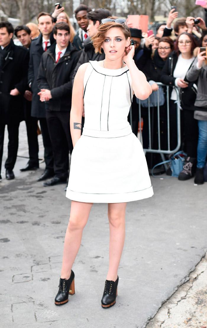 Kristen Stewart, en la semana de la moda de París