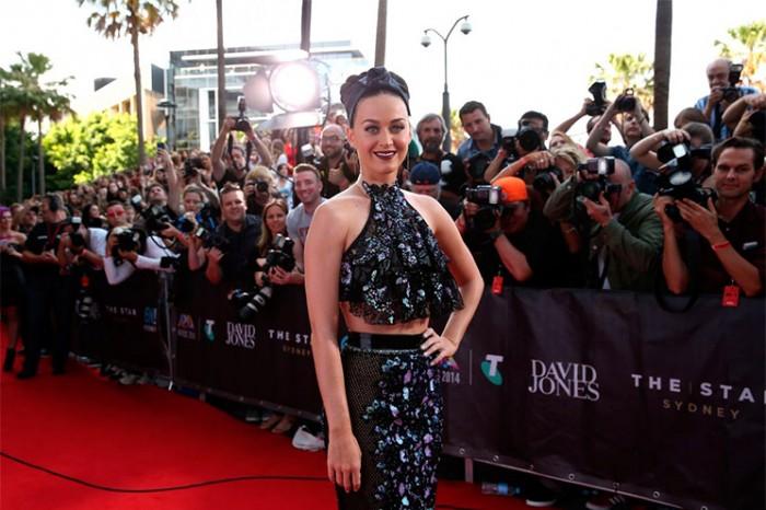 Look de Katy Perry en la alfombra roja
