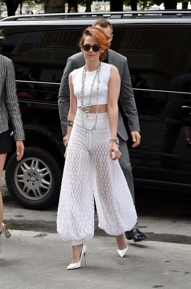 Look en blanco de Kristen Stewart