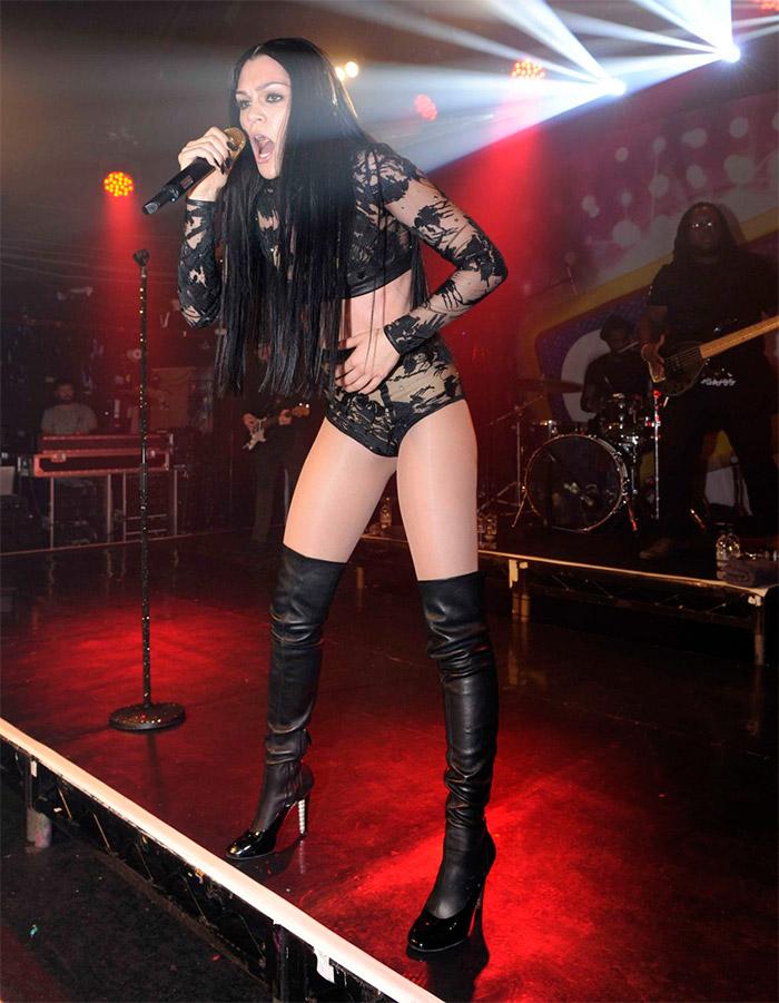 Look extravagante de Jessie J