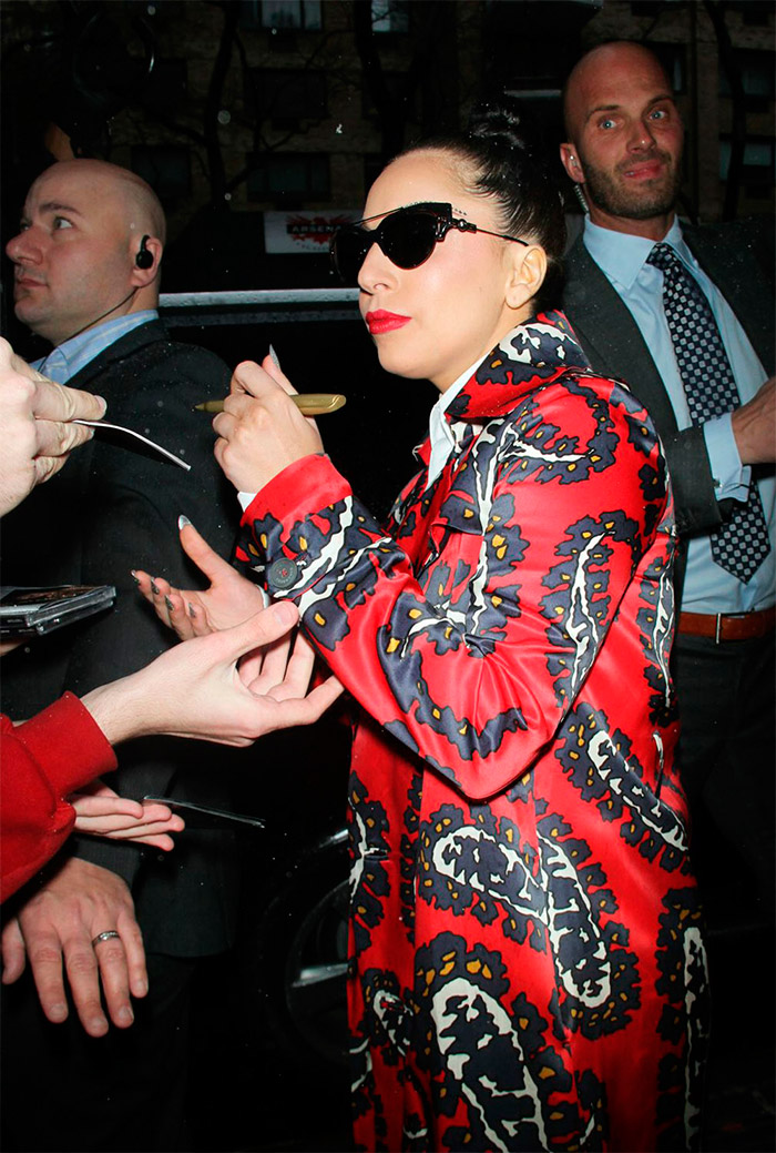 Look innovador de Lady Gaga