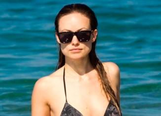 Olivia Wilde en bikini tras maternidad