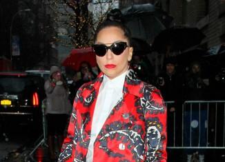 Otro look innovador de Lady Gaga