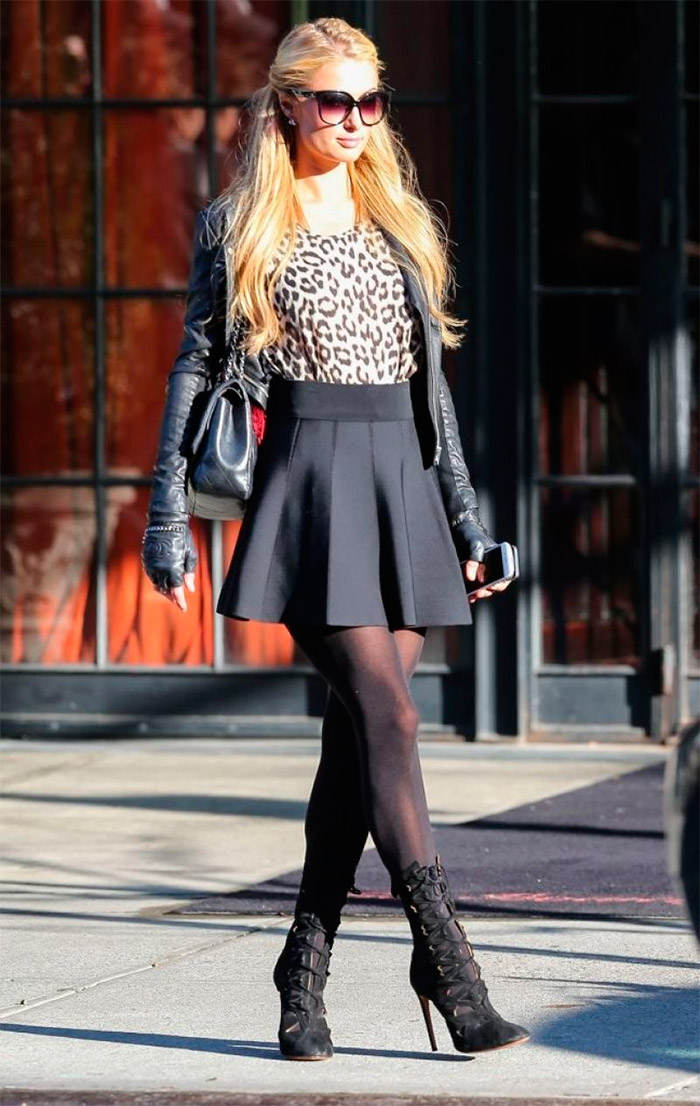 Paris Hilton, estilo urbano en hotel de New York