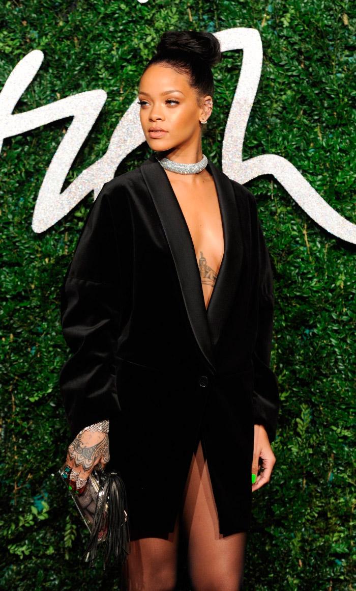 Rihanna en los BFA 2014