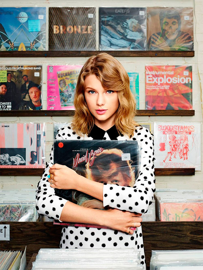Taylor Swift en Lucky Magazine