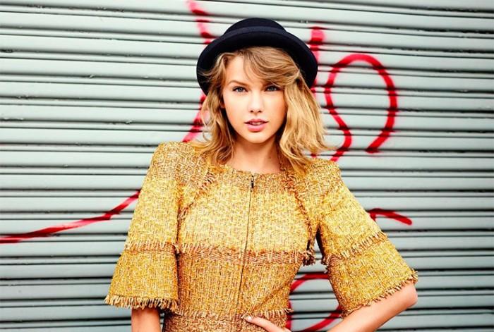 Taylor Swift, portada de Lucky Magazine