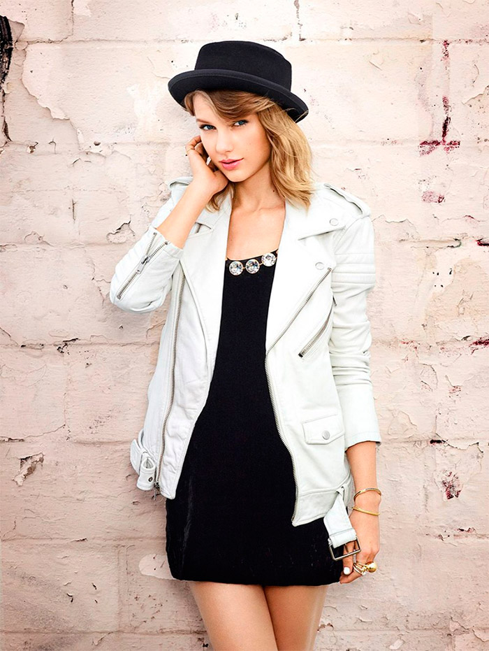 Taylor Swift y Lucky Magazine