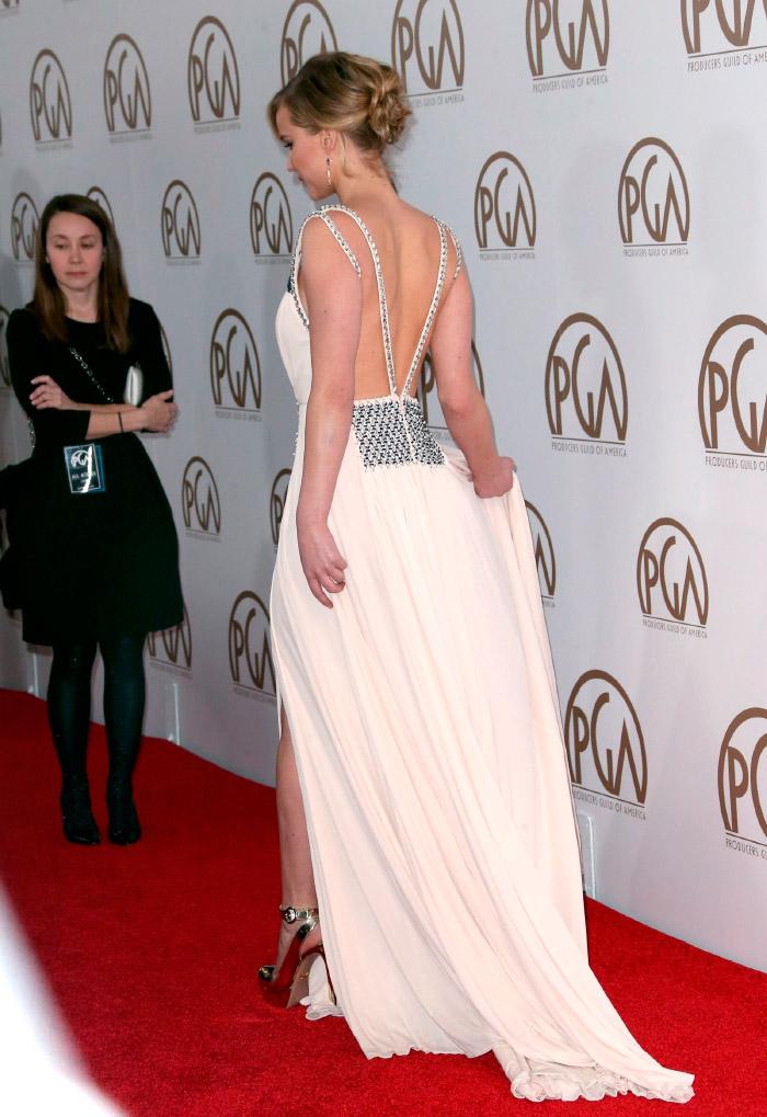 Vestido Prada de Jennifer Lawrence