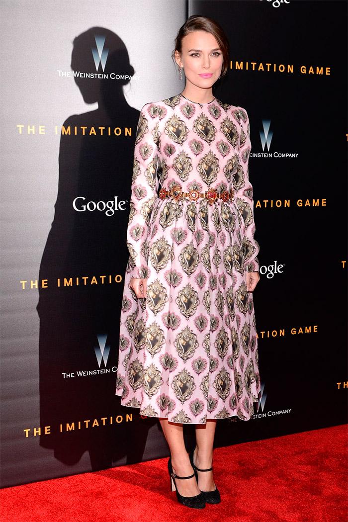 Vestido de Keira Knightley