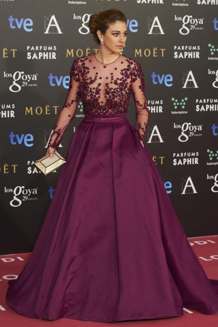 Vestido de Blanca Suarez para los Premios Goya